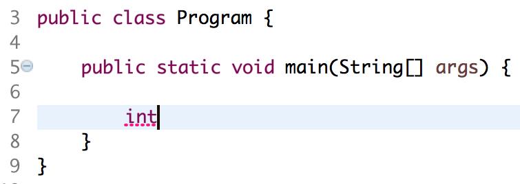 java variablen erzeugen