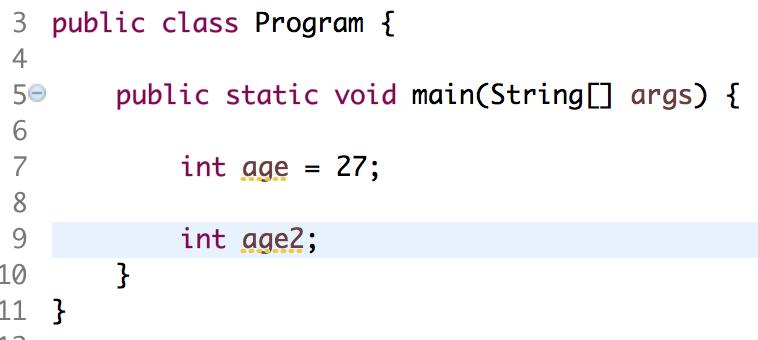 weitere java variablen erzeugen